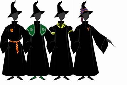 Potter Harry Robes Robe Fan Clipart Silhouette