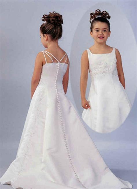 litle girls white wedding dresses