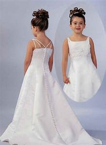 little girls white wedding dresses di candia fashion With little girls dresses for wedding