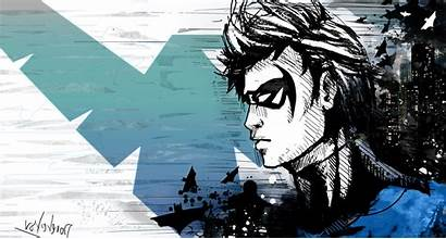 Nightwing Wallpapers Comics Dc 4k Desktop Background