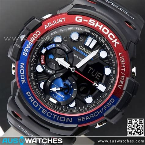 casio g shock gn 1000 blue buy casio g shock gulfmaster compass moon tide graph sport