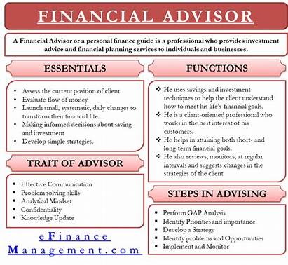 Financial Advisor Types Statements Analysis Efinancemanagement Investment