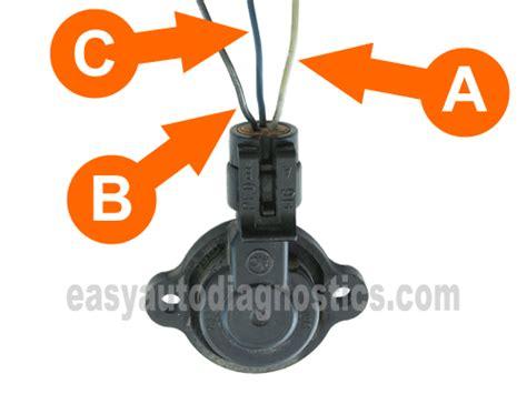 part 1 how to test the gm 2 4l throttle position sensor tps
