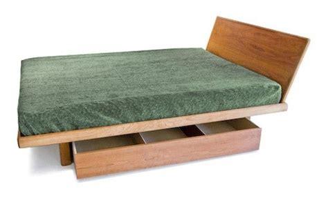 Handmade Floating Platform Bed (frame Only) By Bedworks