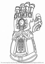 Infinity Gauntlet Avengers Coloring Draw War Step Drawing Iron Marvel Google Learn Colorear Drawingtutorials101 Superhero Drawings Tutorials Adult Colouring Doodles sketch template