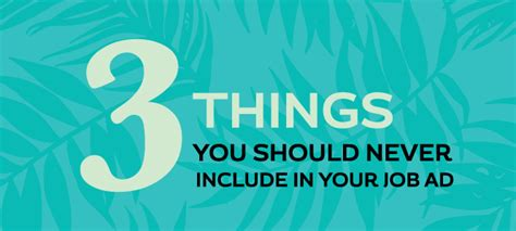 3 things you should never include in your ad altres b2b