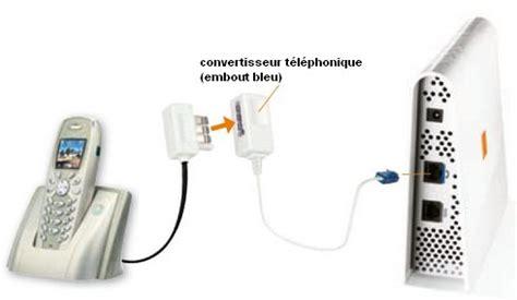 brancher le t 233 l 233 phone par sur la livebox assistance orange