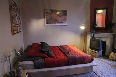 chambre style ethnique photo ethnique et lit plateforme déco photo deco fr