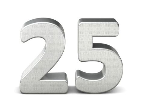 Royalty Free Number 25 Clip Art, Vector Images