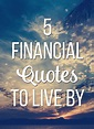 5 Financial Quotes to Live By | Young Adult Money