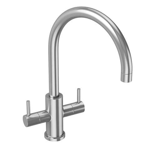 mixer kitchen tap stainless steel abode monobloc novar taps mixers bathroom