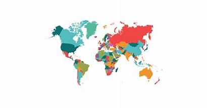Map Transparent Vector Political Graphic Clipart Background