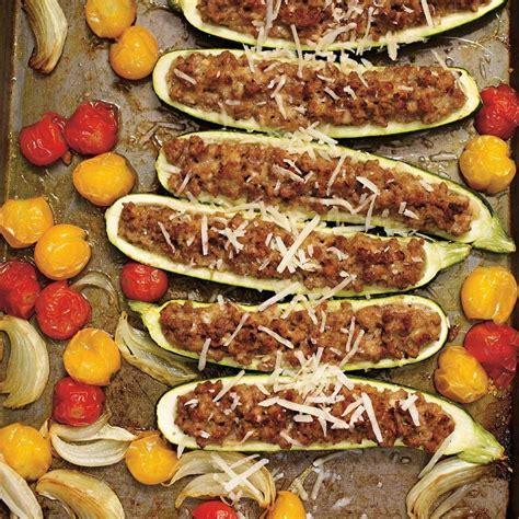 homard cuisine courgettes farcies au veau et au parmesan ricardo