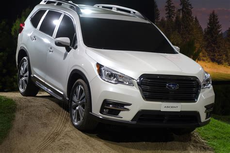 subaru ascent arrives   cupholders automobile