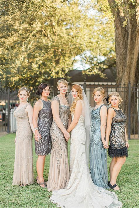 Black and Gold Gatsby Wedding