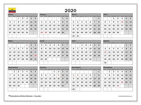 calendario ecuador calendario imprimir gratis