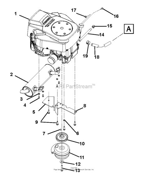 L Engine Diagram by Gravely 991038 000200 Zt2760 Hd 27hp Kohler Courage