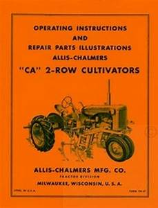 Diagram For Allis Chalmers Ca