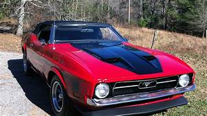 1971 Ford Mustang Mach 1 Convertible | G199 | Kissimmee 2014