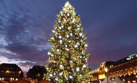 illuminations grand sapin de no 235 l strasbourg 2014 youtube