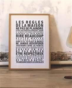 Regle De Vie A La Maison : affiche les r gles de la maison f e pas ci f e pas a ~ Dailycaller-alerts.com Idées de Décoration