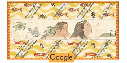 Google Israel Doodles Kamakawiwo Ole Singer Rainbow