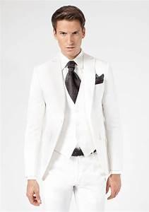 Costume Homme Mariage Blanc : costume 3 pi ces ivoire jean de sey costumes de mariage pour homme et accessoires mari ~ Farleysfitness.com Idées de Décoration