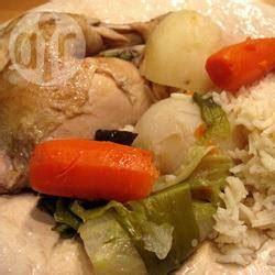 recette poule au pot en cocotte minute toutes les recettes allrecipes