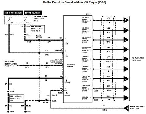 1996 Ford Thunderbird Stereo Wiring Diagram by I A 1997 Mustang Gt With The Basic Mach 460 Sound