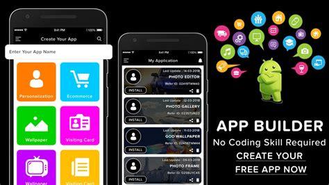 lets app maker creator prime app builder  android