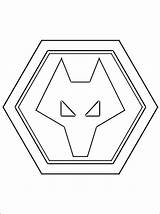 Wolverhampton Wanderers Football Wolves Coloring Pages Fc Colouring Club Team Printable Template English Emblem Wanderer Professional Templates Imprimer Dibujos Futbol sketch template