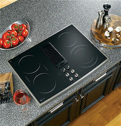 drop in electric ranges with downdraft top 5 glasstop cooktops ebay