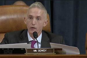 Gowdy Makes Case For Trump, Against Partisan Officials ...