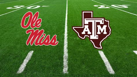 Texas A&M - Ole Miss football game postponed due to ...