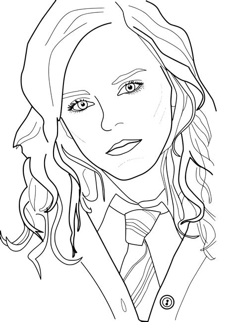 harry potter coloring page coloring pages  kids