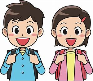 Clipart Students With Backpacks 1