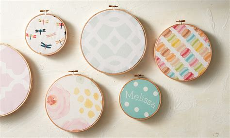 exterior wall diy fabric embroidery hoops zazzle