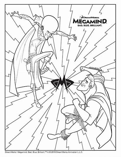 Megamind Coloring Pages Coloring2print Episodes