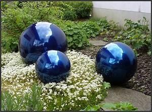 Großes Loch Im Garten Welches Tier : edelstahlkugel blau 35 cm dekokugel trendy ebay ~ Lizthompson.info Haus und Dekorationen