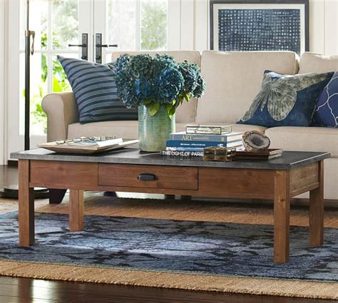 pottery barn coffee tables channing coffee table pottery barn