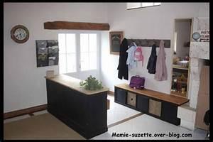 Amenagement de l39entree le blog de mamie suzetteover for Meuble hall d entree ikea 4 amenagement de lentree le blog de mamie suzette over