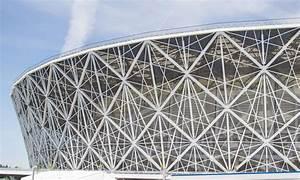 May 23  2018 Volgograd  Russia  New Football Stadium Volgograd Arena  Editorial Stock Image