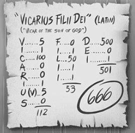 Illuminati Numerology The Vatic Project Occult Numerology