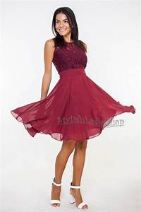 Marsala bridesmaid dress burgundy bridesmaid lace for Maroon dresses for wedding