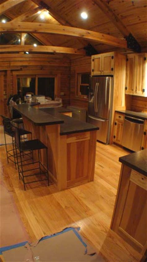 hickory kitchen island crafted solid hickory kitchen cabinets hirschboeck