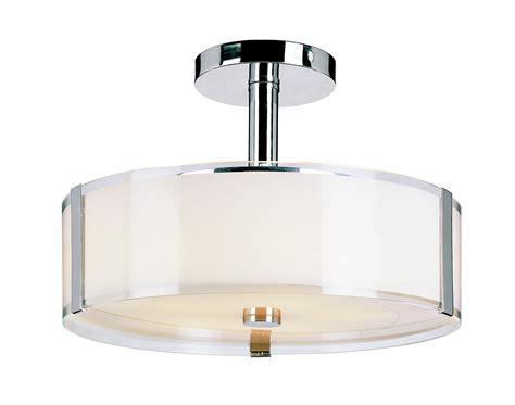 interior modern semi flush ceiling light deco