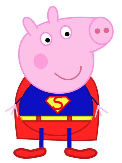 superman peppa pig and peppa pig george as superman by dev catscratch on deviantart