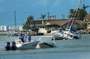 Hurricane Boats In Florida by Florida Dealing With Hurricane Irma Aftermath Daily Mail