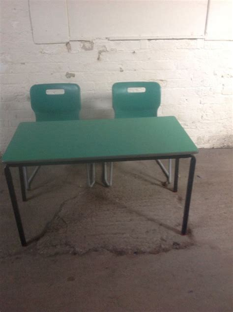 secondhand chairs  tables school playgroup