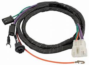 Wiring Harness  Console Extension  1967 Gto  Lemans  Tempest